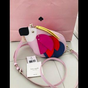💖 BNWT Kate Spade 💖 Parrot Crossbody Bag 🎀